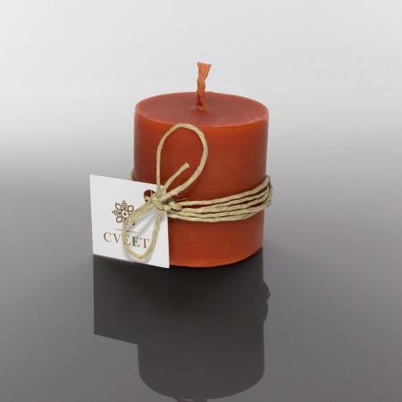 Crvena sveća od pčelinjeg voska