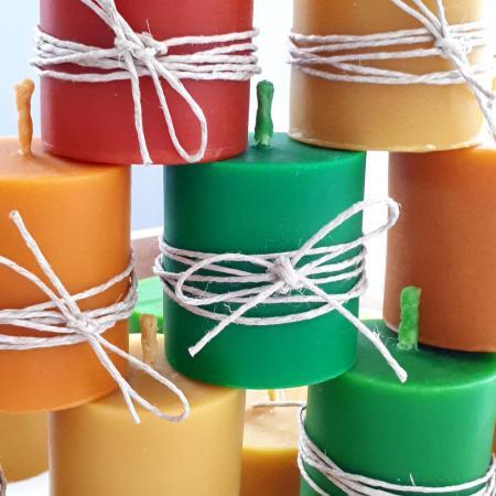 Ručno radjene sveće od voska