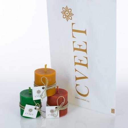 Tri sveće poklon paket