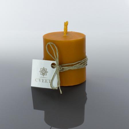 Narandžasta sveća od pčelinjeg voska