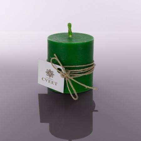 Zelena sveća od pčelinjeg voska
