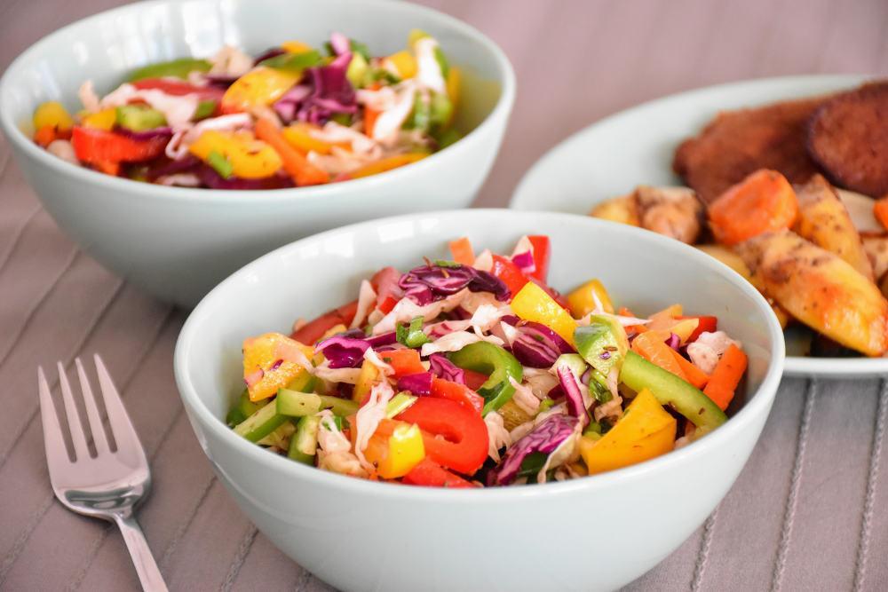 Zdrava šarena salata